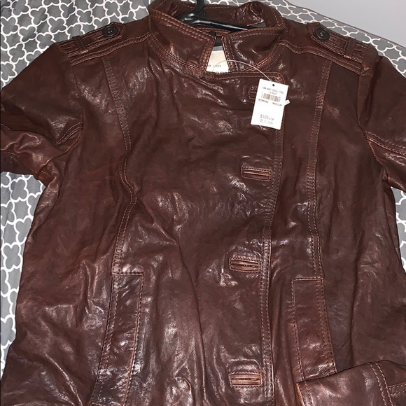 Abercrombie & Fitch Jackets & Blazers - Abercrombie & Fitch Women's Leather Jacket